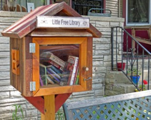 Sharing Books in a Little Free Library