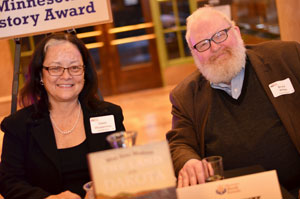 Gwen Westerman and Bruce White won the Minnesota Book Award forMni Sota Makoce: Land of the Dakota.