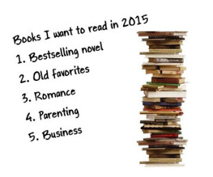 Your 2015 New Year's Book List