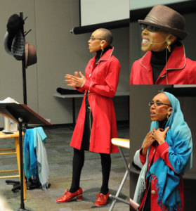 Andrea Davis Pinkney delivers the 2014 May Hill Arbuthnot Lecture