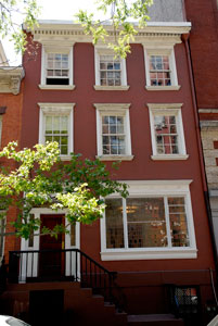Writers in New York's historic brownstone.