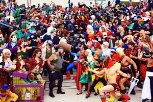 Dress up as or meet your favorite comic book characters at Comic-Con International.