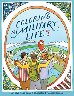Coloring My Military Life-Book 2