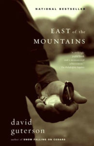 Jim says talking about novels is a great way to engage conversation to challenge point of view. He and his friends recently had a long discussion about end of life choices after reading East of the Mountains.