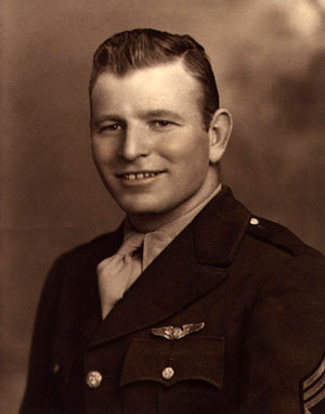 Paul's dad, Richmond Dillon, was a World War II B-17 ball turret gunner. Shot down in 1943, Richmond was a POW for twenty months in Stalag 17B.