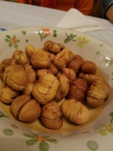 Roasted chestnuts. A delightful treat this time of year!