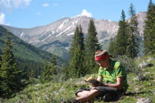 Books on a Rock: Postcards from Camp