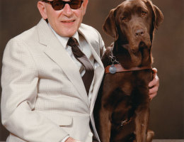 Guide Dog Helps Holocaust Survivor Share Story