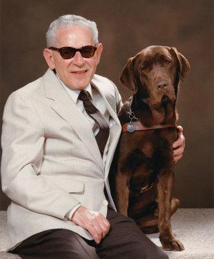 Guide Dog Helps Holocaust Survivor Share Story