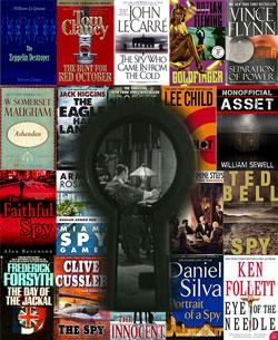 TOP SECRET: Books/Hidden Library Key to Spy Museum