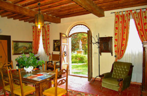 The Tuscany Writeaway, with a scholarship from Books Make a Difference, Elva Resa, and Writeaways for a military-connected woman writer, takes place in a 17th century villa in Chianti, Italy.