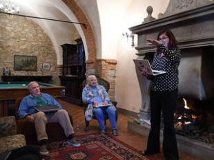 Writeaways in Italy includes workshops and readings with a small group of writers in a villa in Tuscany.
