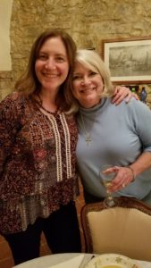 Karen and Maddy.