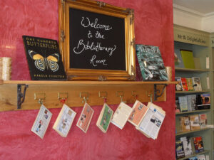"""Books Make a Difference - Though the boom of bibliotherapy continues to grow, Mr B's Emporium of Reading Delights in Bath, United Kingdom, has been offering bibliotherapy sessions in its """"Reading Spa"""" since 2008. Photo Courtesy of Shelley Rodrigo – Creative Commons."""