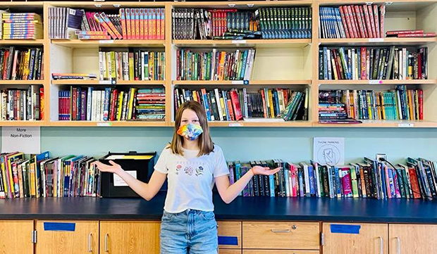 Classroom library, OFA, Books Make a Difference
